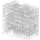 RHKW Linz 3D-Stahlbauzeichnung
