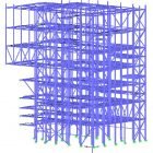 RHKW Linz 3D-Modell Stahlkonstruktion